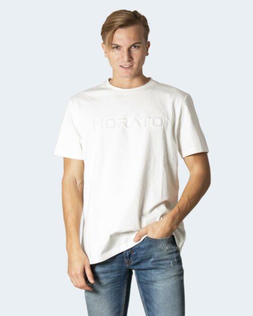 T-shirt Antony Morato T-SHIRT SLIM FIT IN COTONE CON 0010723 – FA100223 Crema – 72713