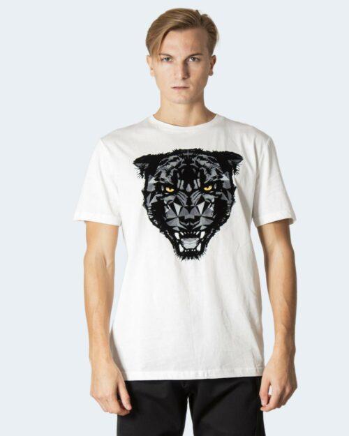 T-shirt Antony Morato T-SHIRT SLIM FIT IN COTONE CON 0010723 – FA100144 Crema – 72714