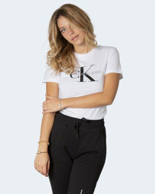 T-shirt Calvin Klein CORE MONOGRAM LOGO REGULAR FIT T Bianco – 80067