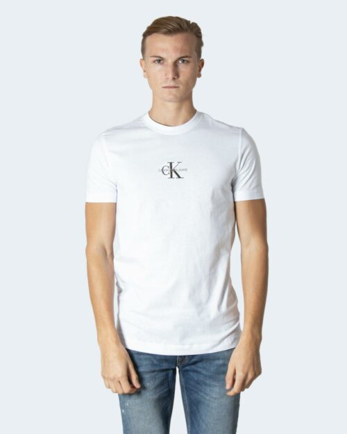 T-shirt Calvin Klein NEW ICONIC ESSENTIAL bianco ice – 64612