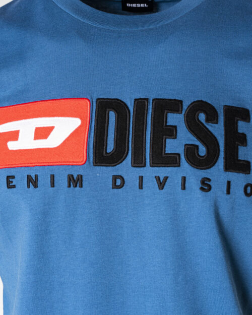 T-shirt Diesel DIEGO DIVISION Celeste – 74508