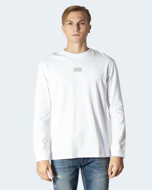 T-shirt Jack Jones JCOCLASSIC TEE LS CREW NECK SN – 12198075 Bianco – 71742