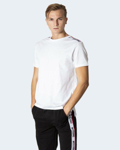 T-shirt Moschino Underwear LOGO SPALLE Bianco – 78678