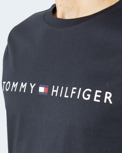 T-shirt Tommy Hilfiger CN SS TEE LOGO Blue scuro – 79091