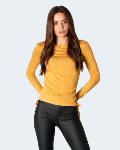 T-shirt manica lunga Desigual COR Giallo – 73264