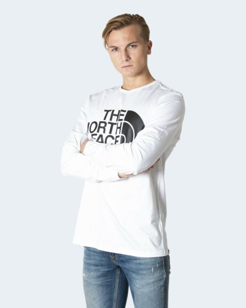T-shirt manica lunga The North Face STANDARD LS TEE Bianco – 79971