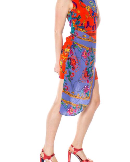 Vestito corto Desigual VEST TIWA Rosso – 23294