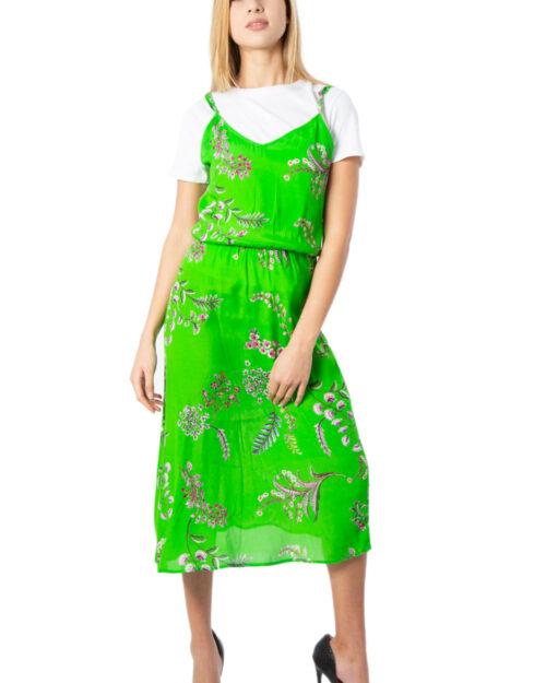 Vestito lungo Desigual Vest Neida Verde – 39582