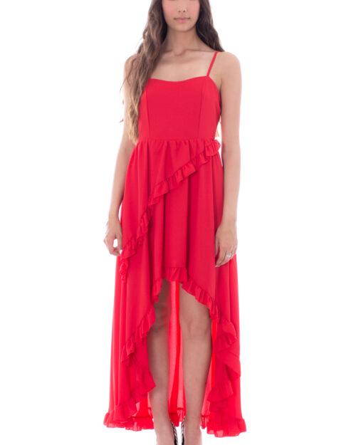 Vestito lungo Rinascimento BALZE Rosso – 30288
